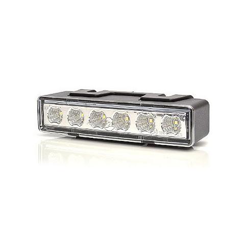 Lampa LED ostrzegawcza żółta 12V/24V (898.2)