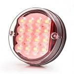 Lampa LED tylna hamowania 2 funkcje 12V (166)