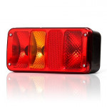Rear lamp with reflector 6 functions LEFT (185)