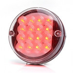 LED rear fog lamp 12V round (168)