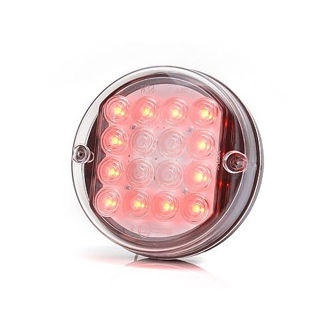 Lampa LED pozycyjna tylna okrągła 12V (174)