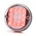 Lampa LED pozycyjna tylna okrągła 24V (175)