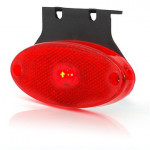 LED rear end-outline lamp oval 12V/24V (307Z)