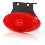LED rear end-outline lamp oval 12V/24V (307Z)