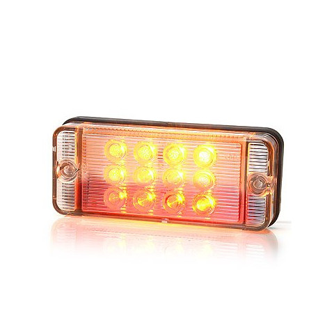 Multifunctional LED rear lamp 3 functinos 12V/24V (821)