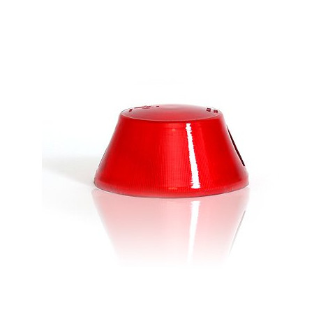 Klosz lampy WE92 czerwony krótki (19)