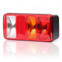 Rear lamp with reflector 5 functions RIGHT (190)