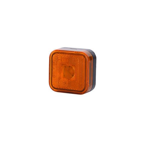 Lampa obrysowa kwadratowa pomarańczowa (LO094)