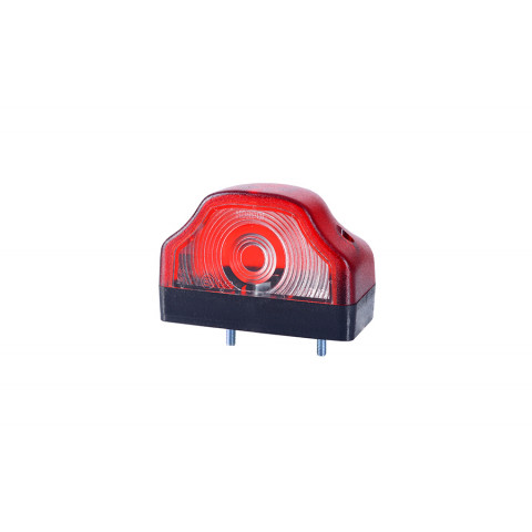 Numberplate lamp red (LT104)