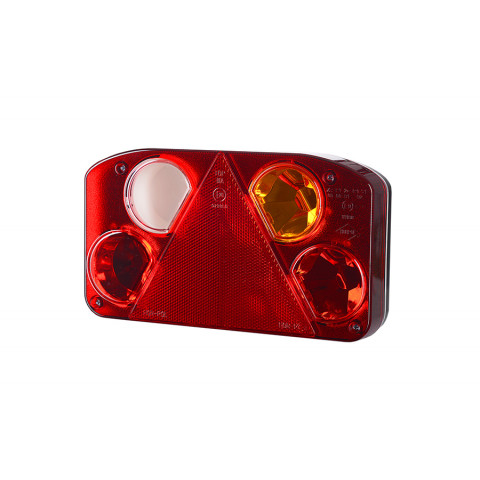 Multifunctional rear lamp 3 functions triangle RIGHT (LZT808)