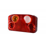 Multifunctional rear lamp 6 functions triangle LEFT (LZT810)