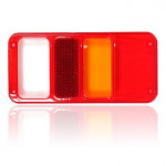 Rear lamp cover lens W29P RIGHT (191)