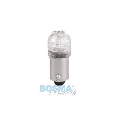 LED bulb 24V BA9S white standard BOSMA 2pcs 8009