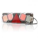 Multifunctional LED rear lamp 6-functional LEFT (205O)