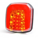 Multifunctional LED rear lamp 4 functions 12V-24V 1088