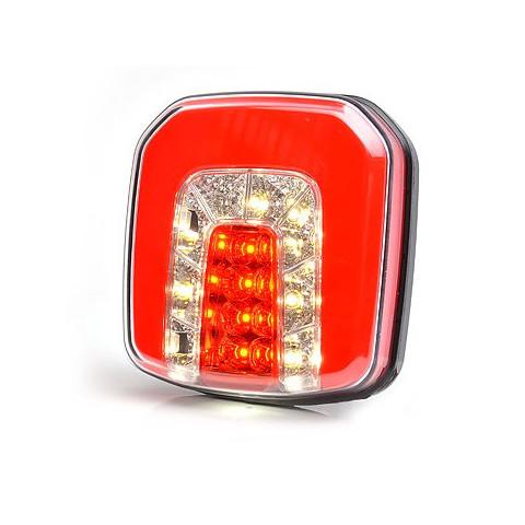 Multifunctional LED rear lamp 4 functions 12V-24V 1090
