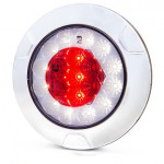 Multifunctional LED rear lamp 2 functions round 1092