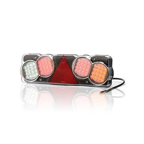 Lampa LED zespolona tylna 6-funkcyjna PRAWA (207O)