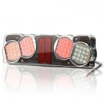 Multifunctional LED rear lamp 7-functional LEFT (209O)