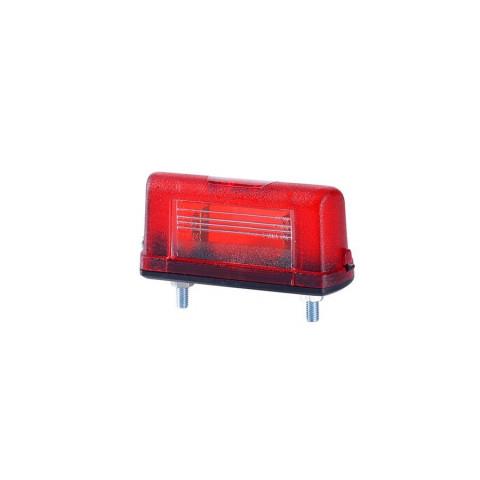 Lampa ośw. tablicy mała czerwona (LT106)