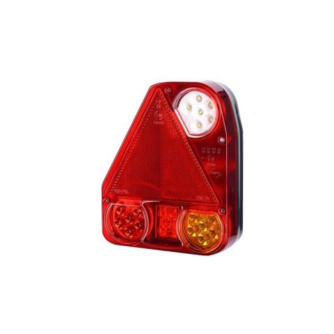Lampa LED zespolona tylna trójkąt LEWA (LZD780)