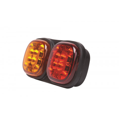 LED rear lamp 3 functions 12V/24V L12.01
