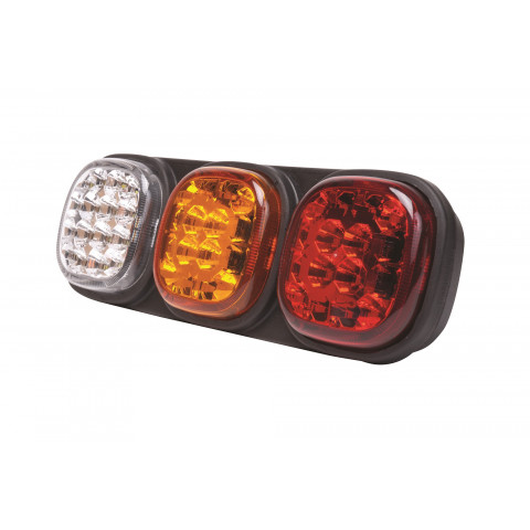 LED rear combination lamp 4 functions 12V/24V L13.00