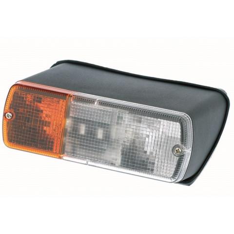 Lampa przednia kierunkowskaz LEWA 12V 24V 9058.01