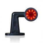 Lampa LED obrysowa przednio-tylna LEWA 496BCL