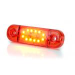 Lampa LED pozycyjna tylna 12LED SLIM 12V 24V 715