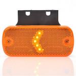 Lampa LED pozycyjna boczna wieszak 12V 24V (901)