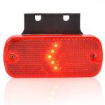Lampa LED obrysowa tylna wieszak 12V 24V (902)