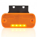 Lampa LED pozycyjna boczna wieszak 12V 24V (904)