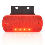 Lampa LED obrysowa tylna wieszak 12V 24V (905)