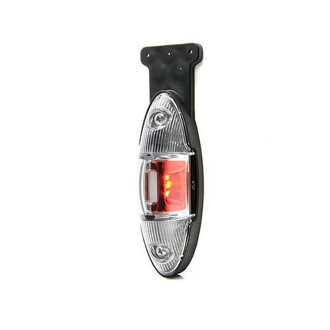 Front-rear position LED lamp 12V 24V LEFT 818L/II