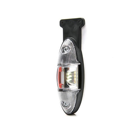 Lampa LED przednio-tylna 12V 24V PRAWA 818P/II