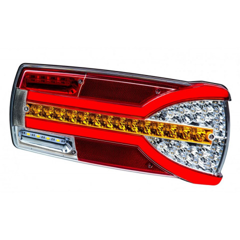 Multifunctional LED rear lamp 7 functions Carmen RIGHT LZD2301