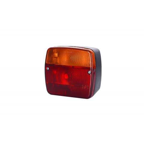 Multifunctional rear lamp 4 functions for trailers LZT237