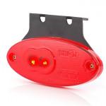 Lampa LED pozycyjna tylna owalna czerwona (310Z)