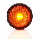 Lampa LED pozycyjna boczna żółta okrągła (680)