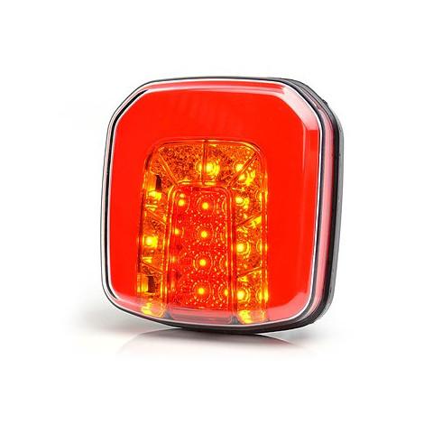 Multifunctional LED rear lamp 3 functions 12V-24V 1089