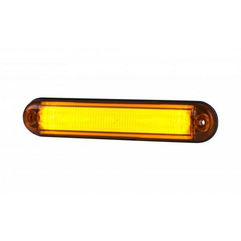 Lampa LED obrysowa żółta światłowód LD2333