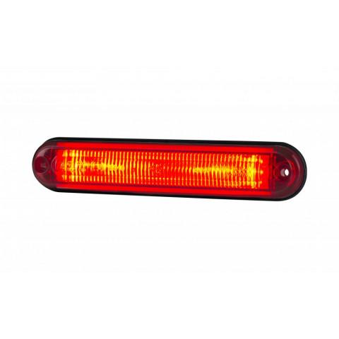 Side marker LED lamp amber fiber LD2333
