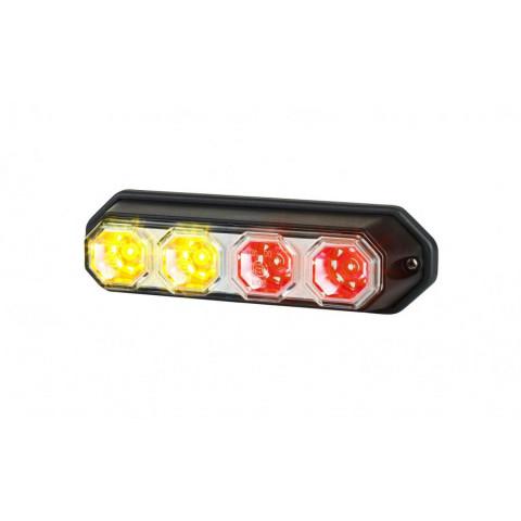 Multifunctional LED rear lamp 7 functions Carmen RIGHT LZD2301
