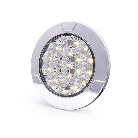 Lampa LED oświetlenia wnętrza okrągła 12V 24V 991
