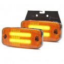Lampa LED pozycyjna boczna wieszak 12V-24V 1138