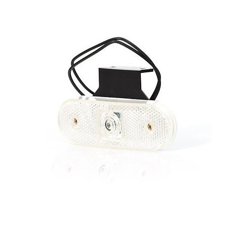 Lampa LED obrysowa przednia biała wysięgnik (231Z)