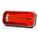 Lampa LED tylna 5 funkcji 12V-24V L/P 1124 DD