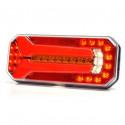 Multifunctional LED rear lamp 7 functions LEFT 1117L DD
