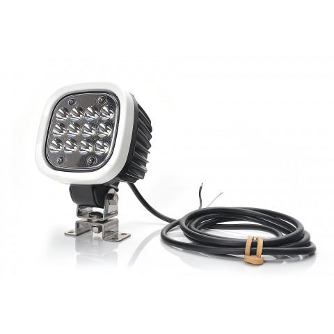 Lampa LED robocza 7000lm 12LED skupione 1208